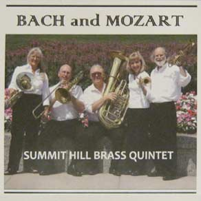 Bach and Mozart CD cover